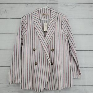 NWT Anthropologie Dolan Stripe Blazer
